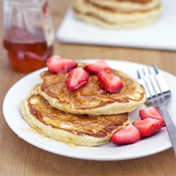 Honey Apple Pancakes Recipe
