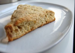 Lemon Ginger Scone Recipe
