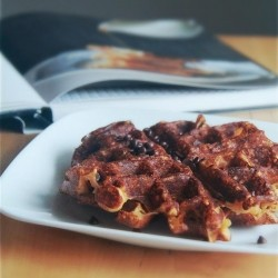Malted Waffles with Chocolate Chips Recipe