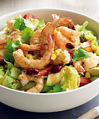 Mexican Prawn and Avocado Salad Recipe