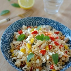 Refreshing Couscous Mint Salad Recipe