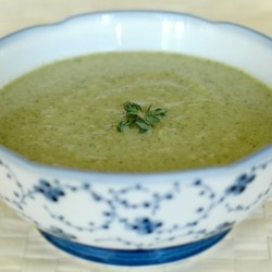 Roasted Broccoli Soup