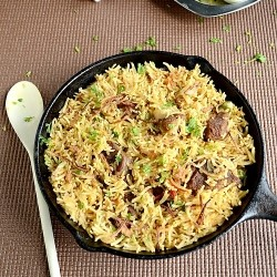 Simple easy version of Mutton Biryani with step…