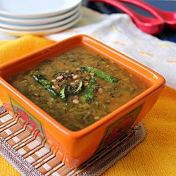 Spinach and lentils Recipe