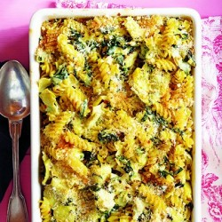 Spinach Artichoke Pasta Bake Recipe