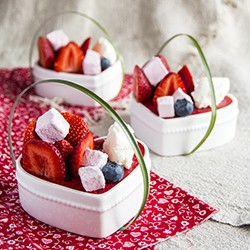 Strawberry Coconut Cheesecake Recipe