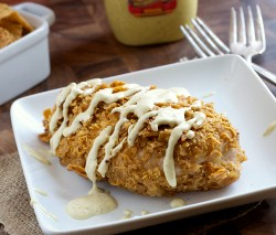 Sweet Potato Chip Crusted Chicken Recipe