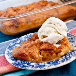Apple Dumplings in Ginger Ale Syrup Recipe