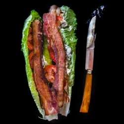 Bacon Lettuce Tomato Lettuce Wraps Recipe