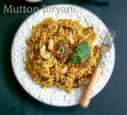 Biryani with Mutton Recipe