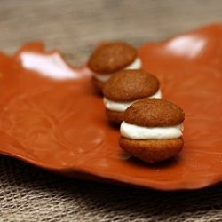 Bite Sized Pumpkin Whoopie Pies