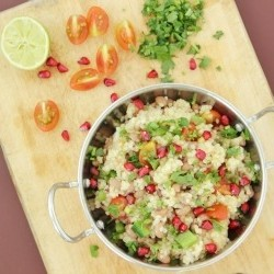 Bulgur with Peas Recipe