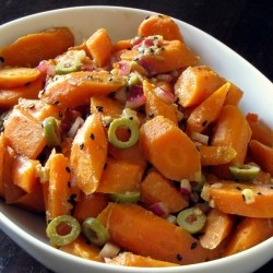 Carrot Salad with Toasted Cumin Dressing