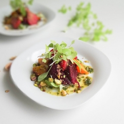 Charred Rainbow Beets Salad Recipe