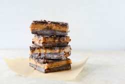 Dark Chocolate Peanut Butter Bars Recipe