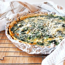 Gruyere Spinach Quiche