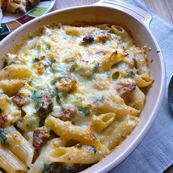 Leek and Bacon Pasta Bake Recipe