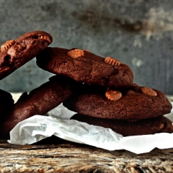 Mini Peanut Butter Cup Chocolate Cookies Recipe