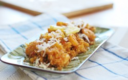 Pineapple Coconut Shrimp Fried Quinoa