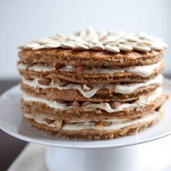 Pumpkin Hazelnut Cake Recipe