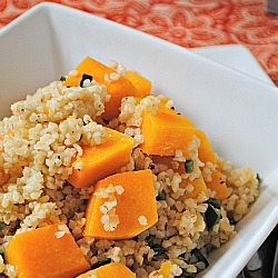 Roasted Butternut Squash Bulgur Wheat Salad