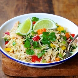 Smoked-Rice Salad