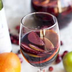 Spiced Cranberry Sangria Recipe