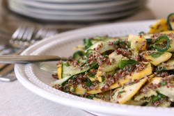 Summer Squash and Red Quinoa Salad Recipe