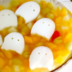 Almond Jelly Ghosts