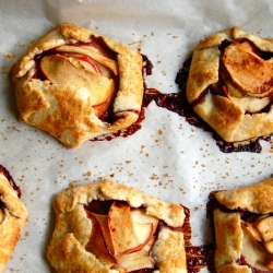 Apple Galettes with All Butter Crust Recipe