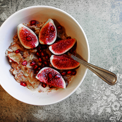 Apples Figs Pomegranate Seed Oatmeal Recipe