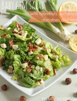 Baby Gem Salad with Hazelnuts Recipe