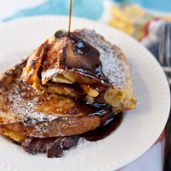 Bacon Apple and Cheese French Toast Recipe