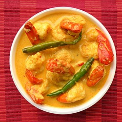 Chingri Malaikari Prawns in Coconut Milk Recipe