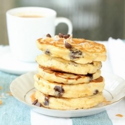 Chocolate Chip Coconut Pancakes Recipe