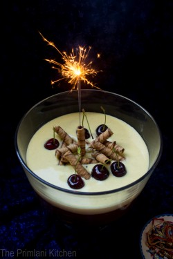 Chocolate Mousse with Creme Anglaise Recipe
