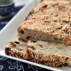 Coconut Dark Chocolate Banana Bread