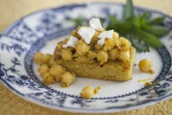 Curry Chickpeas and Polenta Recipe