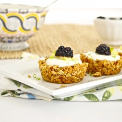 Granola Tart Shells with Greek Yogurt Recipe