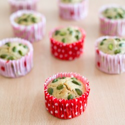 Lemon and Pistachio Muffins Recipe