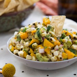 Mango Avocado Corn Salsa Recipe