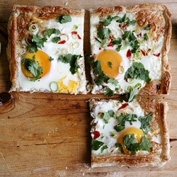 Mexican Egg Galette