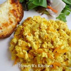 Moms Scrambled Tofu