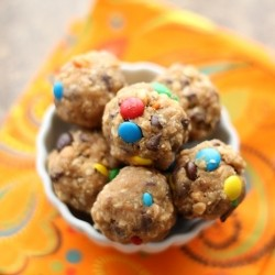 Monster Cookie Dough Bites Recipe