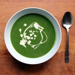 Nettle Lovage Soup Recipe