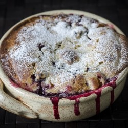 Plum Blackberry Cobbler Recipe