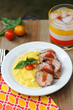 Plum Jam Pork Tenderloin Recipe