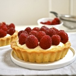 Raspberry Tart Tartine Recipe