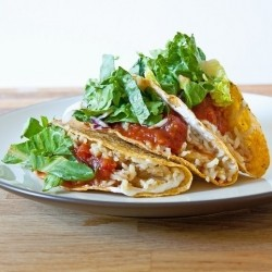 Red Lentil and Brown Rice Tacos