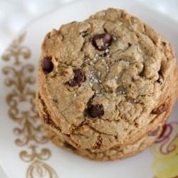 Salted Chocolate Chip Toffee Cookies
